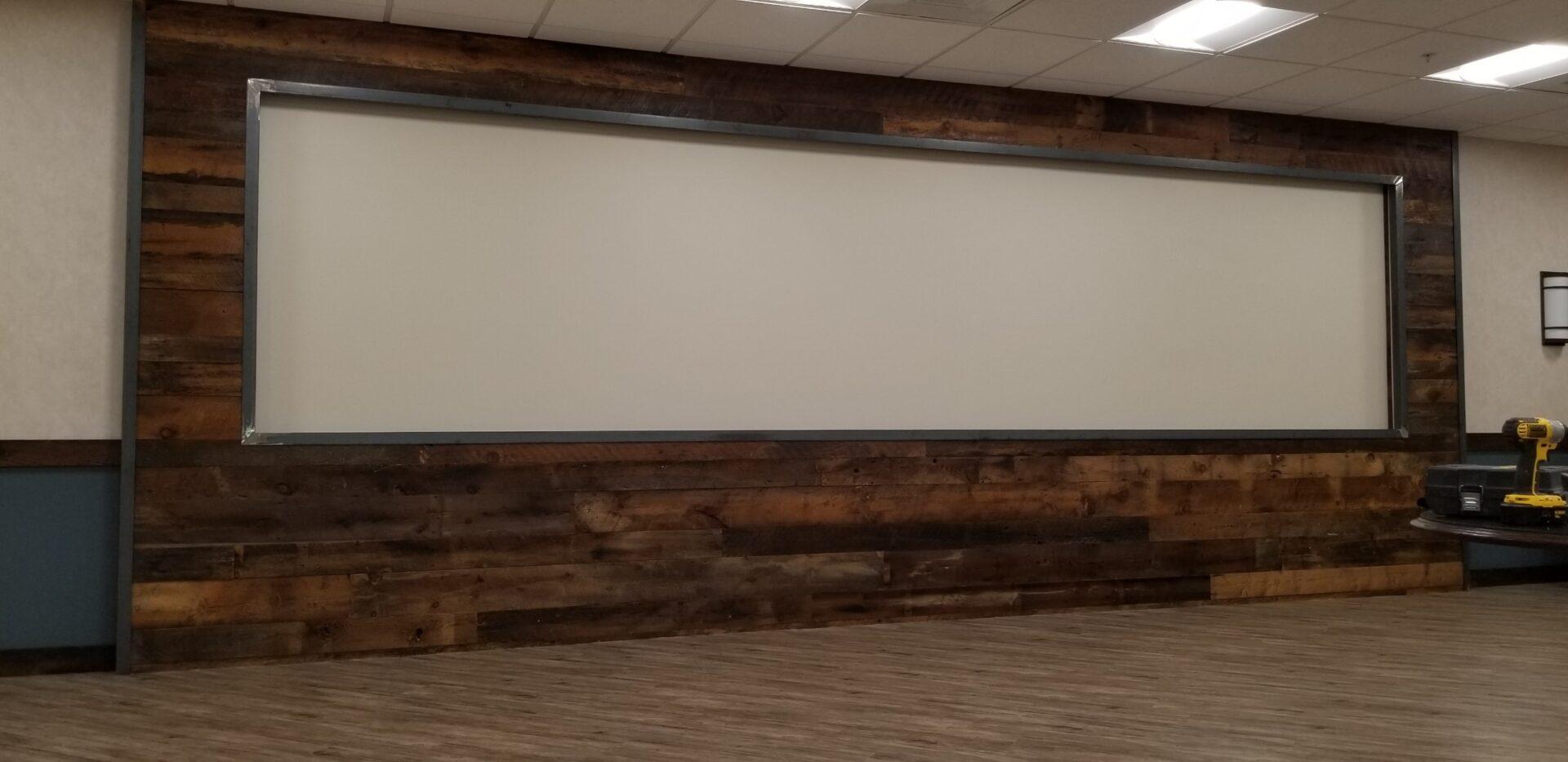 Brown Barn Wood Paneling